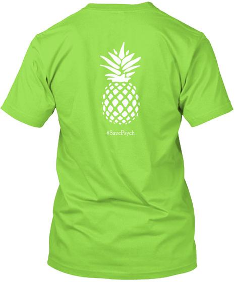 #Saxepavch Lime Camiseta Back