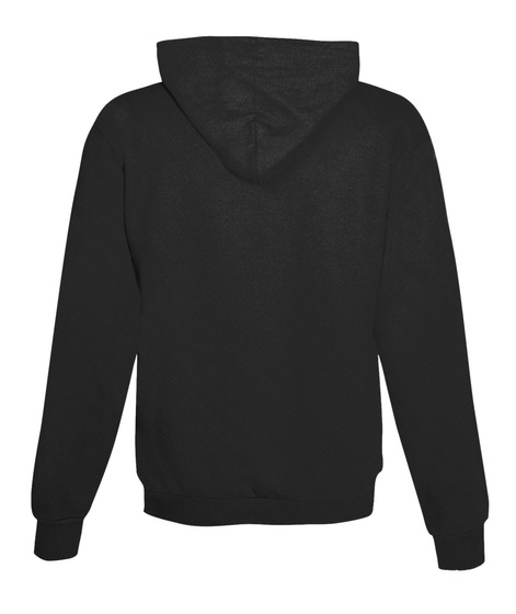 Black Fujiholics Hoodie Jet Black Sweatshirt Back