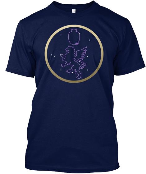 Denouncing Venice Navy T-Shirt Front