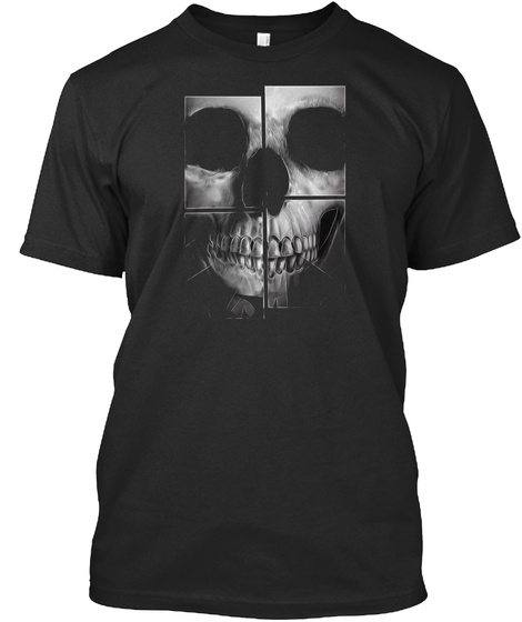 Halloween Day Skull Special T Shirt 2017 Black T-Shirt Front