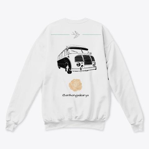 Gtc Big Sur Collection White  T-Shirt Back