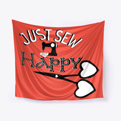 Betty Lop Designer Just Sew Happy Red T-Shirt Front