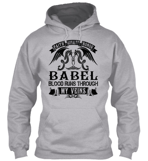 BABEL - My Veins Name Shirts