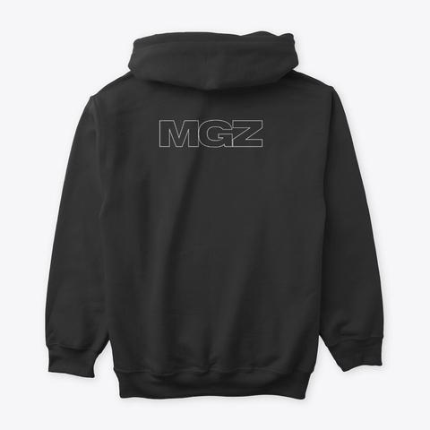 Mgz Merch Black T-Shirt Back
