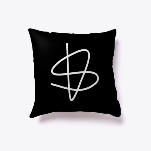 Pillow: Sisu Sign Black Camiseta Front