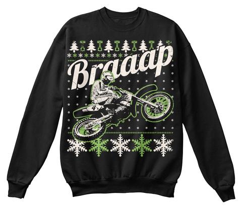 Braaap  Black T-Shirt Front