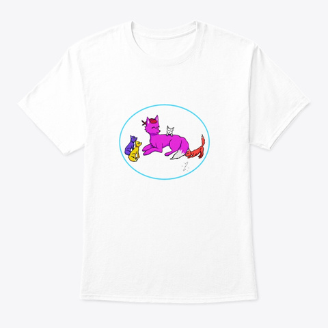 Come Join The Pack White T-Shirt Front