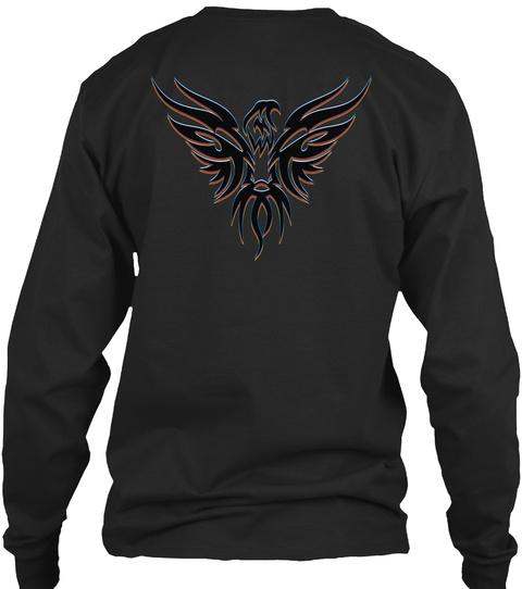 Self Aware Revolutionary Black Long Sleeve T-Shirt Back