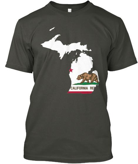 California Re  Smoke Gray T-Shirt Front