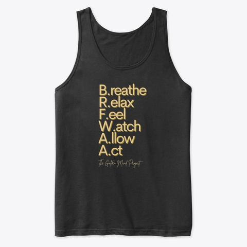Brfwaa Black T-Shirt Front