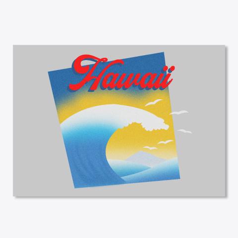 Hawaii Light Grey T-Shirt Front