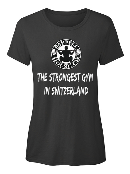 Barbell House.Ch The Strongest Gym In Switzerland Black Kaos Front