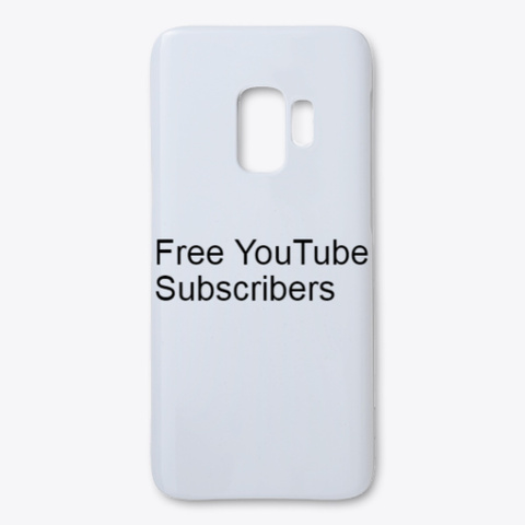  Daily  Free You Tube Subscribers %2020% White T-Shirt Front