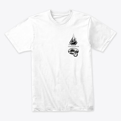Plasma Patch Shirt White T-Shirt Front
