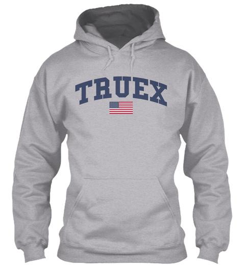 Truex Family Flag Sport Grey T-Shirt Front