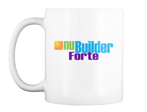 Nu Mugs White Mug Front