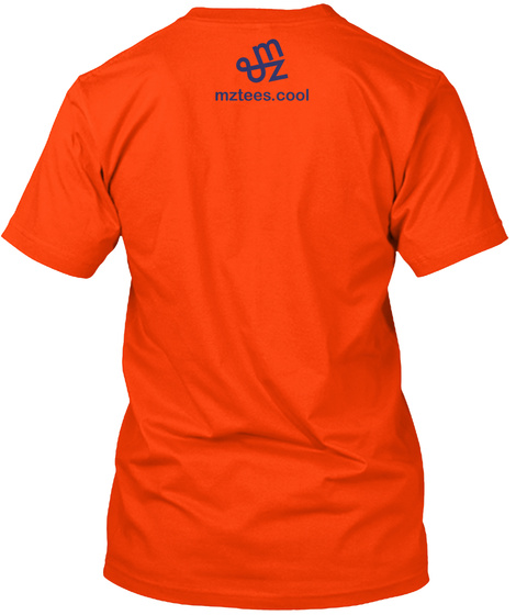 Html Shirt Orange T-Shirt Back