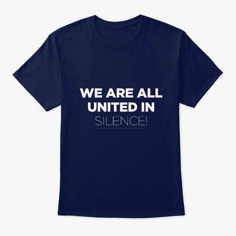 Mindfulness Meditation Navy T-Shirt Front