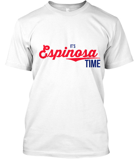It's Say My Name Time!  White T-Shirt Front