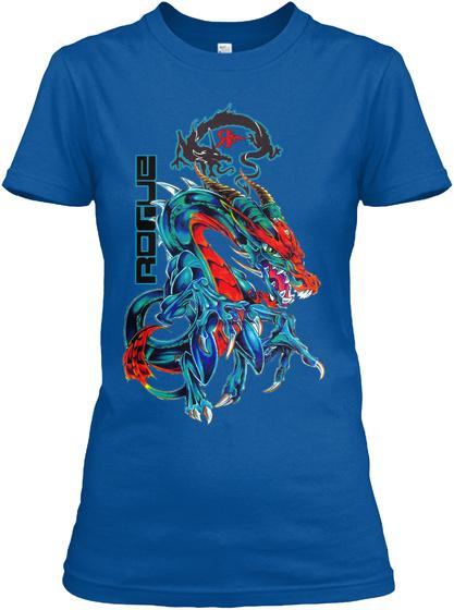 Rogue Royal T-Shirt Front