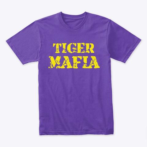 Tiger Mafia  Purple Rush T-Shirt Front