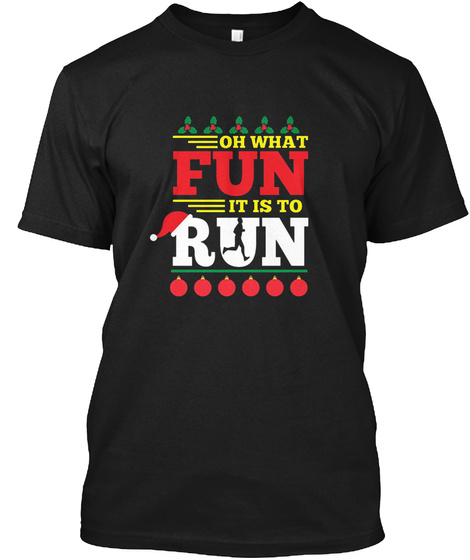Funny Ugly Christmas Running - OH WHAT FUN IT IS TO RUN Products ...