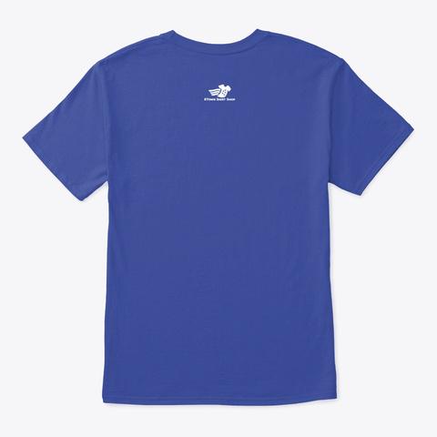 5/77 Armor Steel Tigers On Royal Blue Deep Royal T-Shirt Back