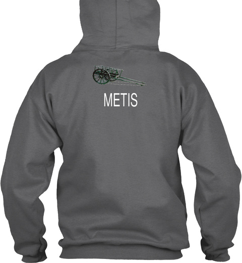 Metis Dark Heather Sweatshirt Back