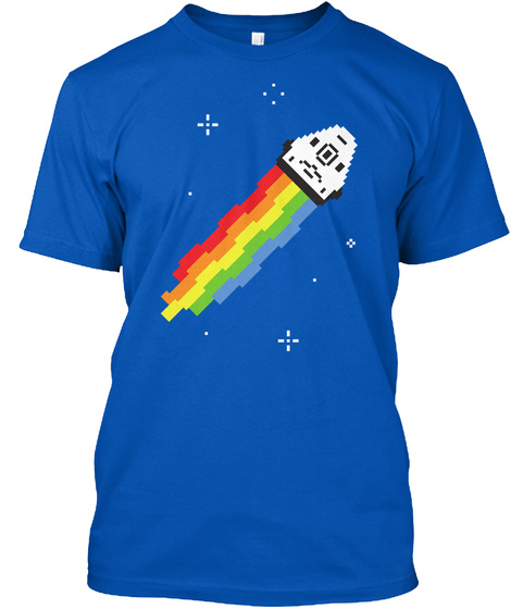 Nyan Dragon [Usa] #Sfsf Royal T-Shirt Front