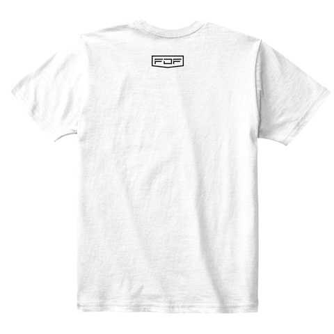 Family Dreams Fitness Kids Shirt White T-Shirt Back