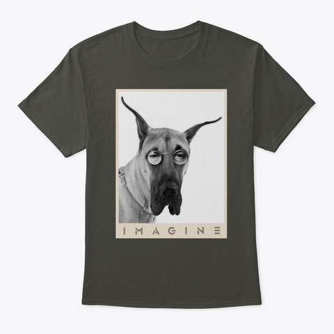 Great Dane Imagine Smoke Gray T-Shirt Front