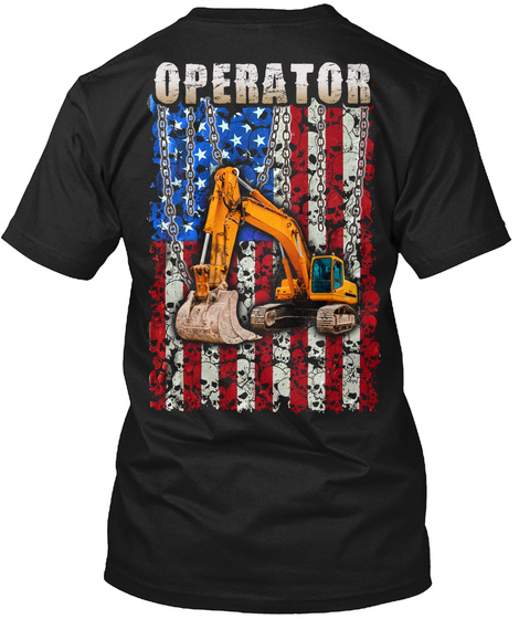 Operator Black T-Shirt Back