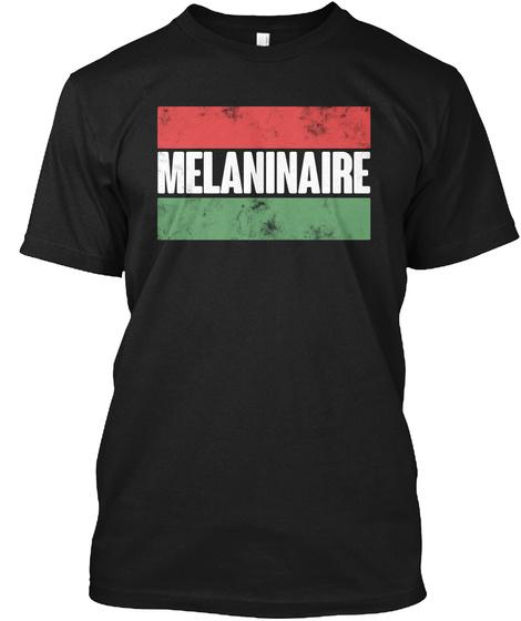 Melaninaire Black T-Shirt Front