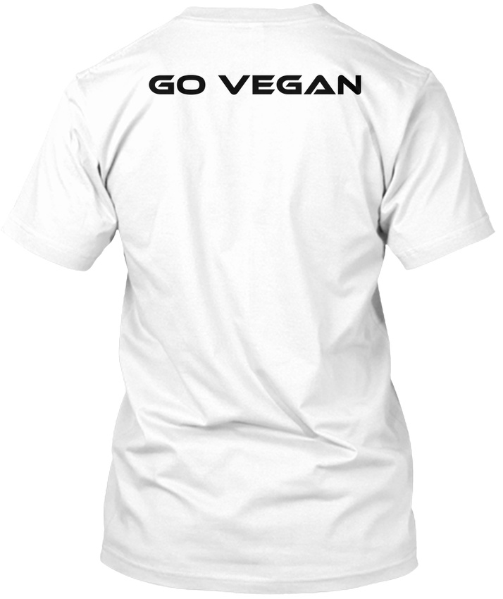 High Carb Vegan Runner Beidseitig Stylisches T-Shirt
