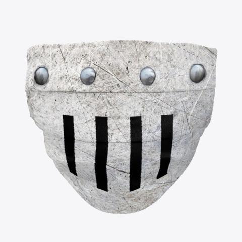 Face Mask   Knight's Helmet   Plain Standard T-Shirt Front