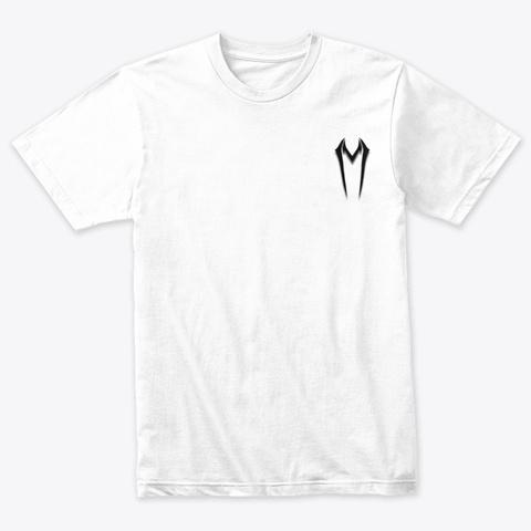 Violin Shredder   Men's Heather White T-Shirt Front