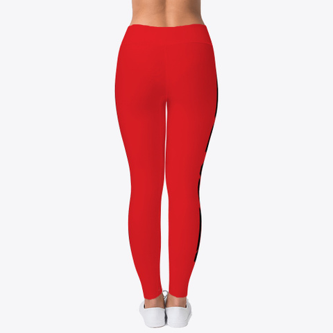 Azgard Leggings Red T-Shirt Back