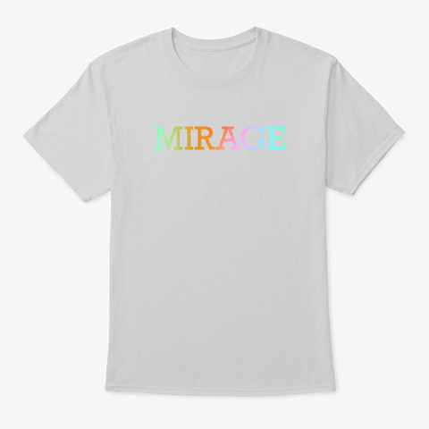 Mirage Design Light Steel T-Shirt Front
