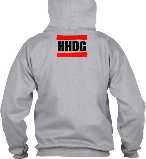 Hhdg Sport Grey T-Shirt Back