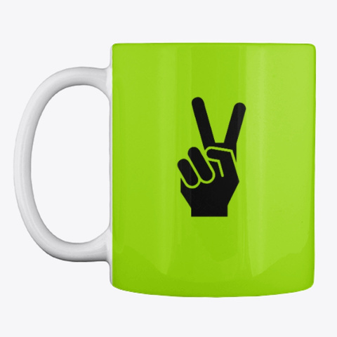Good Morning! (Mug) Lime Green T-Shirt Front