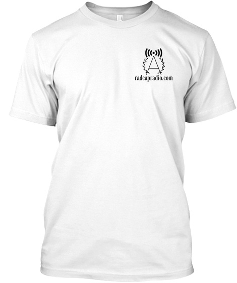 Radcap Ethnic Clash  White T-Shirt Front