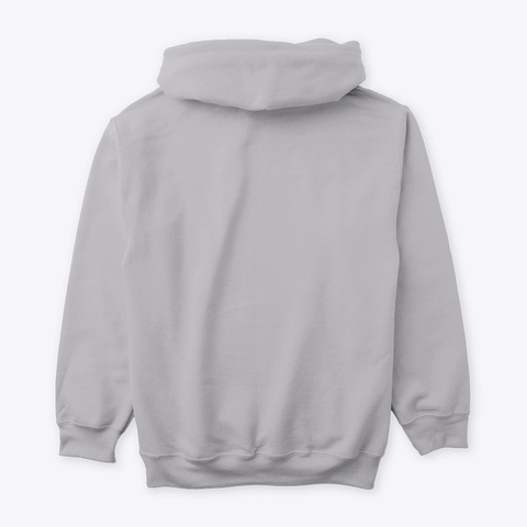 Positive Sideline Vibes Sport Grey Sweatshirt Back