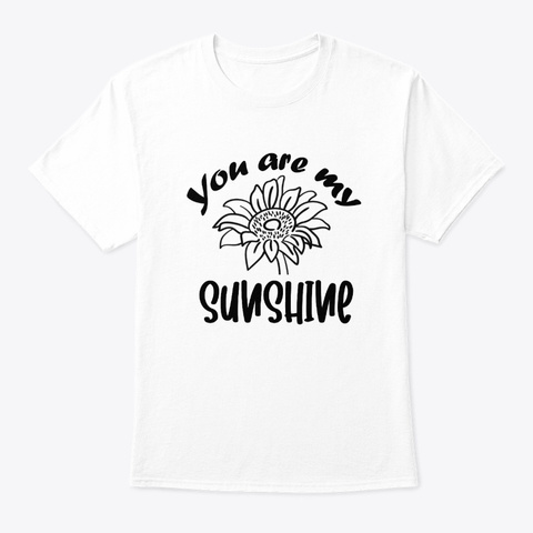 you are my sunshine tie dye shirt