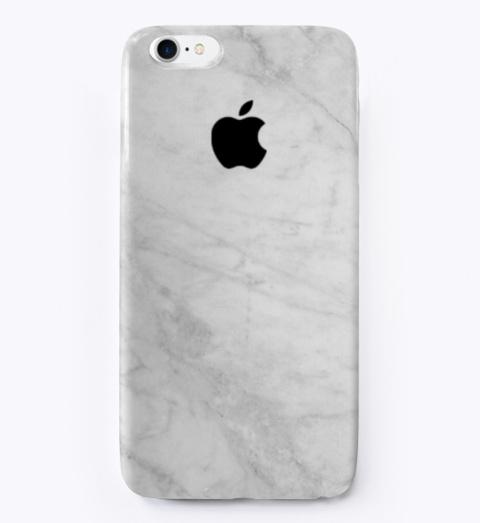 Marble Design I Phone Case Standard T-Shirt Front
