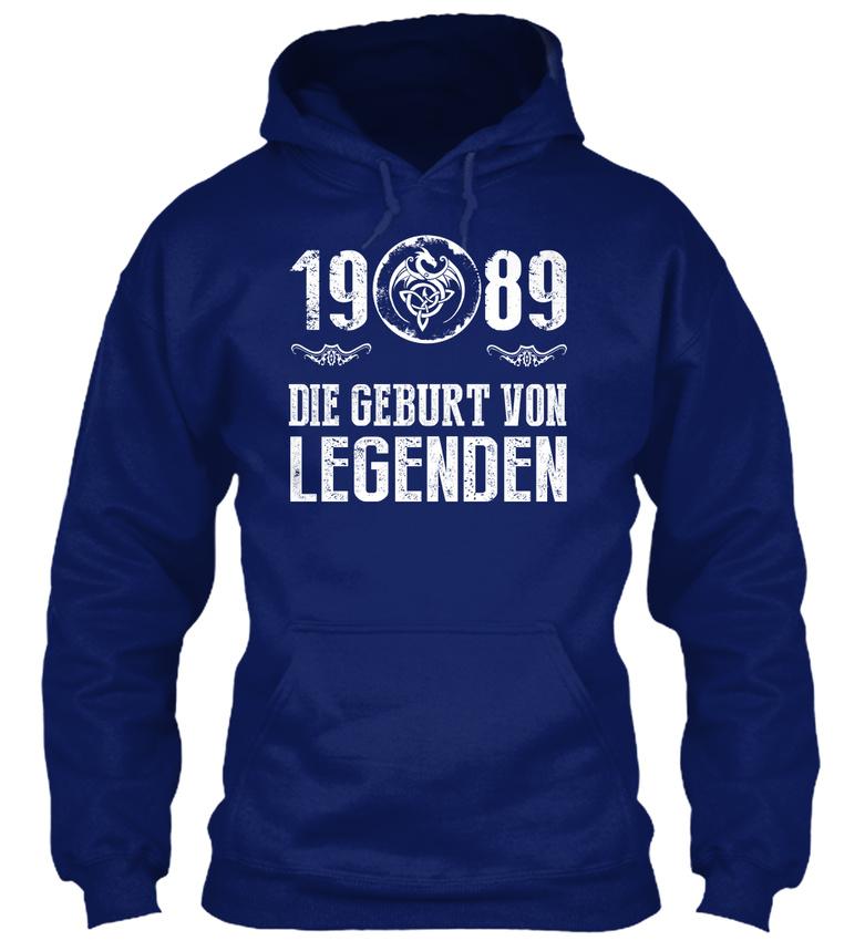 1989-Die-Geburt-Von-Legenden-Sweat-a-Capuche-Confortable