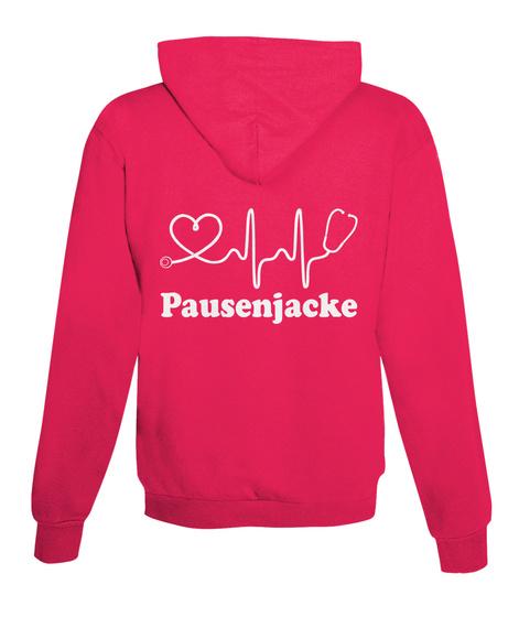 Pausenjacke Hot Pink T-Shirt Back
