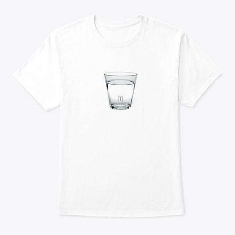 Democrat Water White T-Shirt Front