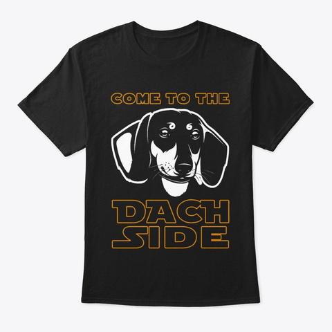 Dachshund Lover 1 Black T-Shirt Front