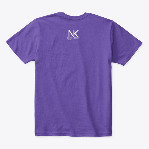 Gimme Purple  T-Shirt Back