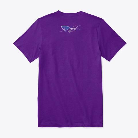 Cuba Yoga  Team Purple Camiseta Back